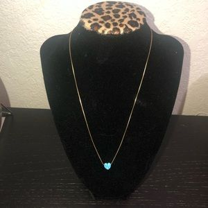 SOLID GOLD 14 K with opal pendant